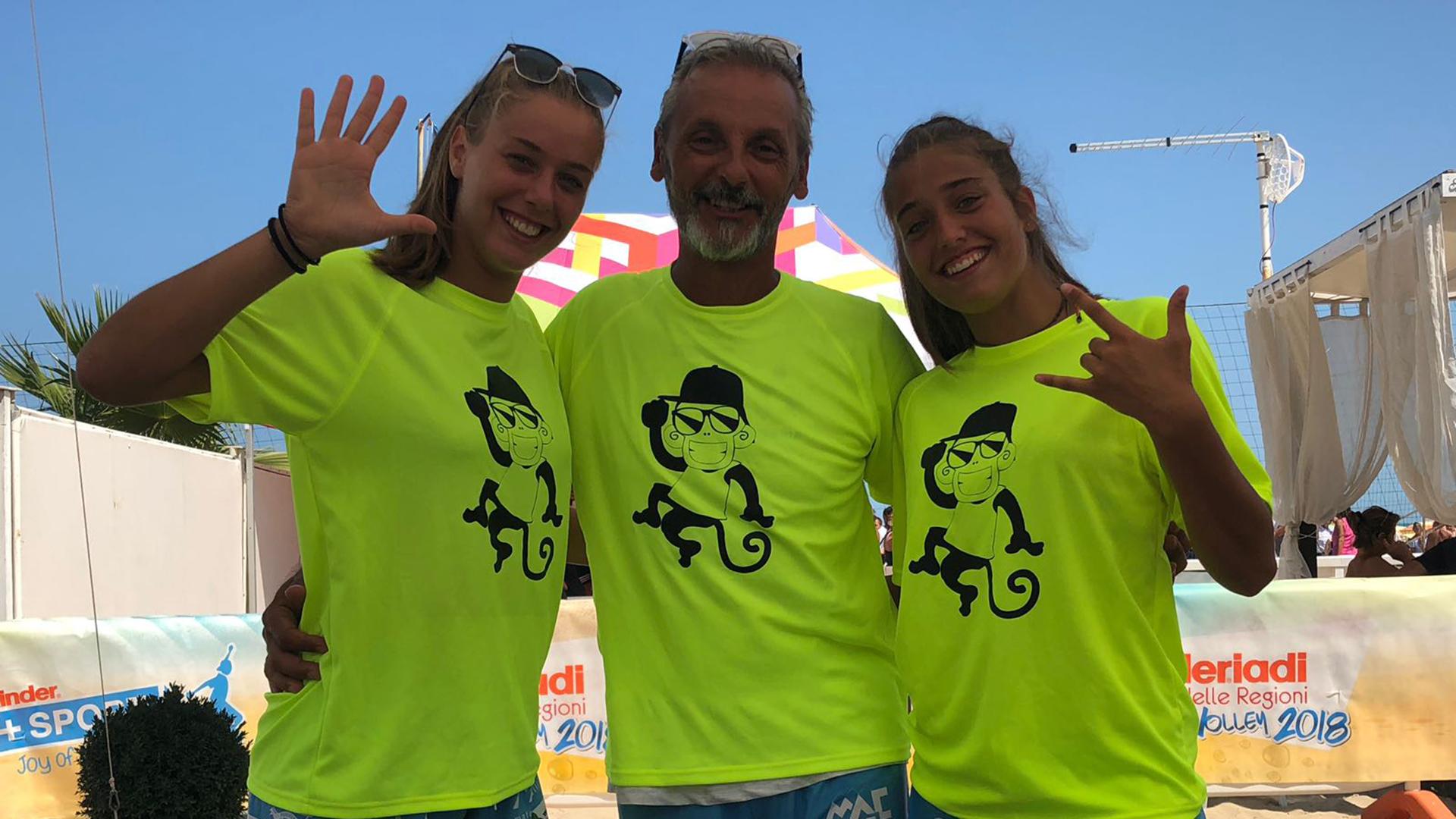 Da destra a sinistra: Aurora Fiorini, Gianluca Carloncelli  e Greta Giunti